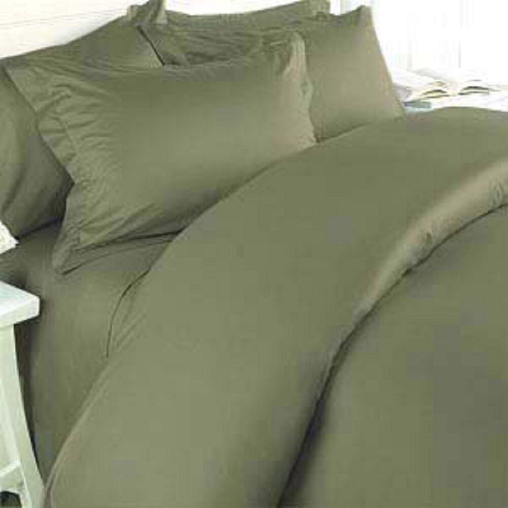Hotel Comfort Exotic Blend Bamboo Sheet Set Soft Breeze KING Größe - SAGE   Grün