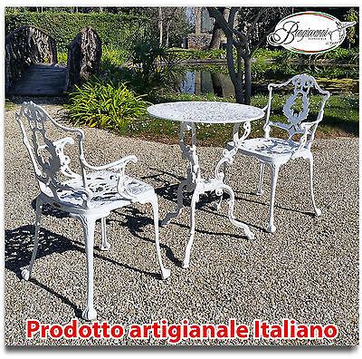 Sedie In Ghisa Da Giardino Prezzi.Arredo Giardino E Casa Scegli Tavolo E Sedie In Alluminio Bianco E