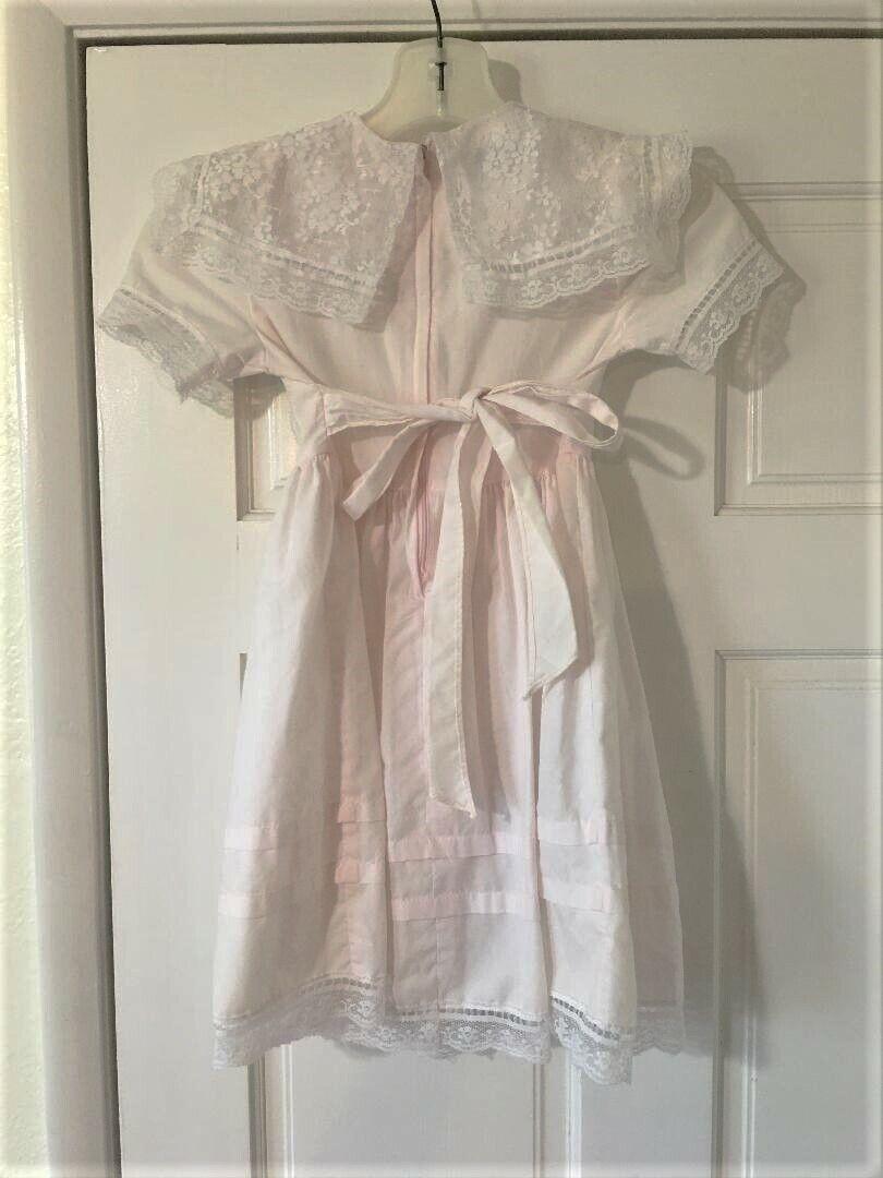 Vintage Girls Toddler Size 5 Gunne Sax Dress Prai… - image 5