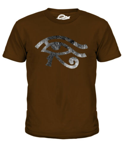EYE OF HORUS KIDS T-SHIRT TEE TOP GIFT EGYPT HISTORY