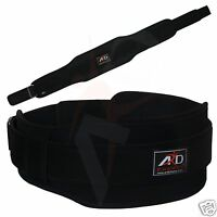 Ard Champs™ Neoprene Weight Lifting Belt Back Support Gym Belts 5 Wide Black