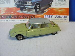 Dinky Toys Ancien Voiture Citroën Ds 19 Référence 530