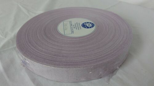 100m Lilac Purple Cotton Webbing Tape Ribbon Vintage  Bunting Crafting