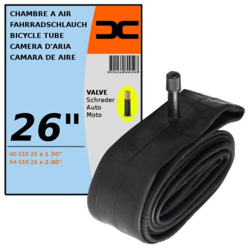 "40//54-559 INNER TUBE 26 x 1.50-2.00/"" SCHRADER VALVE TYPE 35mm BICYCLE TIRE"