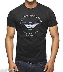 BNWT-Emporio-Armani-Borgonuovo-11-Elegante-Camiseta-disponibles-En-M-L-y-XL-tamano