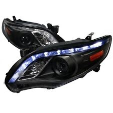2011-2013 Toyota Corolla LED DRL Projector Headlights Black Housing TRD CE Sport