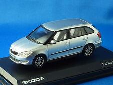 1/43 Skoda Fabia Combi II, Facelift, Silver Brilliant metálico, novedad