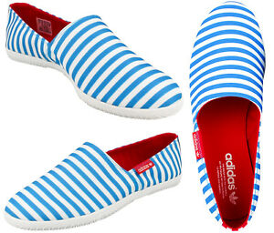 adidas Originals Mens adiDrill Canvas Slip On Summer Espadrilles Pumps Shoes