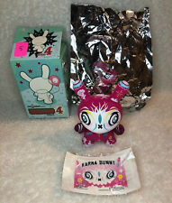 "KIDROBOT /'Bots Series 4 Keychain 1.5/"" Lot Set Vinyl Figure Blind Box Munny Dunny"