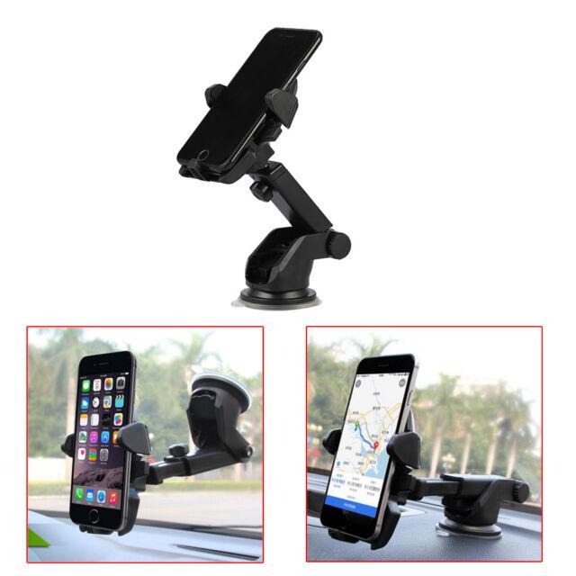 360° Car Holder Windshield Mount Bracket For iPhone Samsung Mobile Cell Phone TK