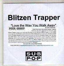 (CS837) Blitzen Trapper, Love The Way You Walk Away - DJ CD