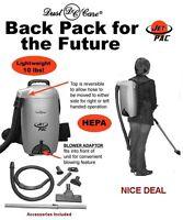 Jetpac Lightweight Backpack Vacuum W/ 20 Bags