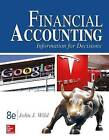 Financial Accounting: Information for Decisions by John Wild (Hardback, 2016)