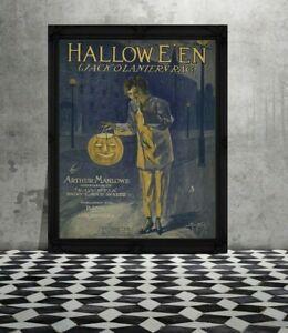 11x14-034-PRINT-Vintage-Halloween-Vintage-Halloween-Vintage-Halloween-Decoration