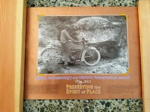 1918-Excelsior-Henderson-Motorcycle-Poster-at-Map-Rock-in-Idaho-24-034-x-18-034