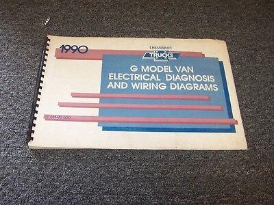 1990 Chevy G10 G20 G30 G-Van Sportvan Factory Electrical ...