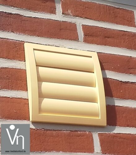 Muro riquadro ø150 Cappa Tubo telescopico lamelle chiusura becco mkwskqlbe 150