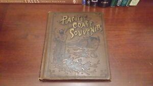 1888-BOOK-Vintage-Antique-PACIFIC-COAST-SOUVENIR-46-photographs-Denison