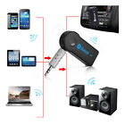 3.5mm Car AUX Stereo Audio Music Wireless Bluetooth Receiver Adapter Speaker