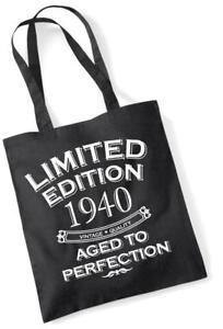 77. Geburtstagsgeschenk Tasche Einkaufstasche Limitierte Edition 1940