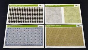 DioDump-DD135-J-Tile-floors-4-designs-VALUE-PACK-1-35-scale-diorama-building