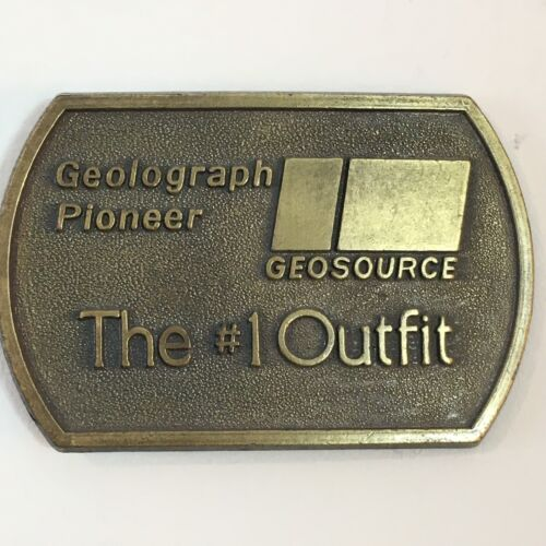 Geolograph Pioneer Geosource The #1 Outfit Oilfiel