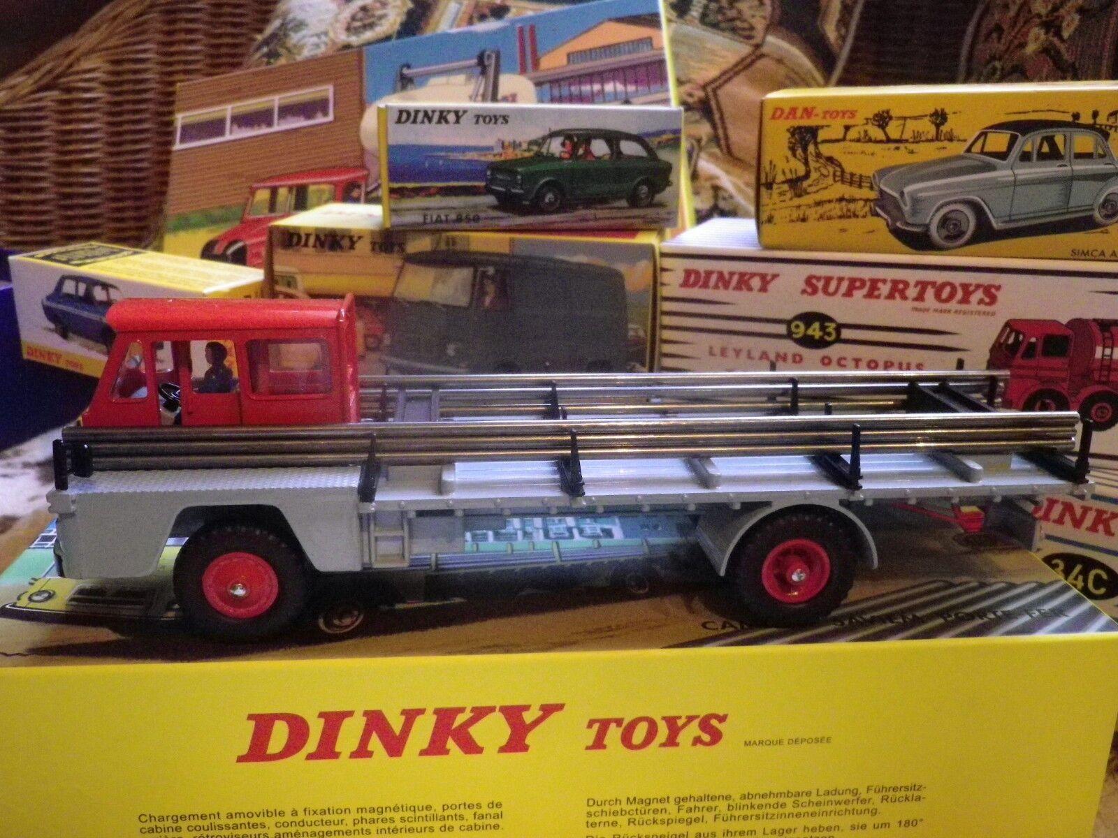Dinky toys atlas 885 saviem porte iron new in box