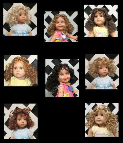 "Doll Wig Monique /""Laura/"" size 10//11 in Lt Brown fits Tonner Katie"