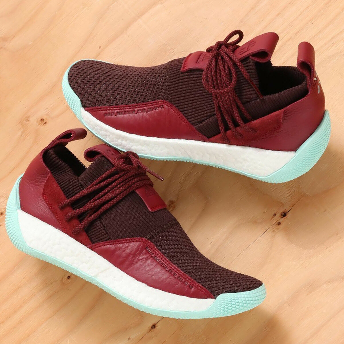 adidas Performance James Harden LS 2 Lace NEW DS Basketball Shoe CG6277 Maroon