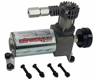 Air Compressor AirMaxxx 180 with Air Intake Filter & Check Valve