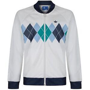 Adidas originali dimensioni x argyle ivan lendl uomini track top piena zip