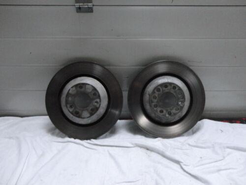 Bentley Continental GT GTC FS  Satz Bremsscheiben hinten Set rear Brake Disc