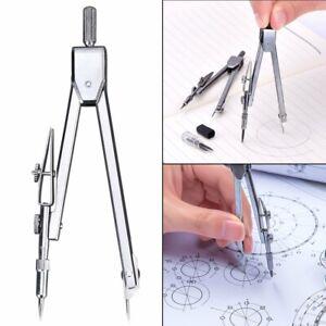 Metal-Drafting-Tools-Math-Drawing-Compass-Set-School-Supplies-Stationery-UK-SHOP