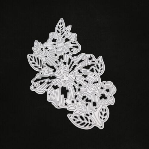 Stanzschablone Blume Blatt Weihnachts Hochzeit Geburtstag Karte Album Tagebuch