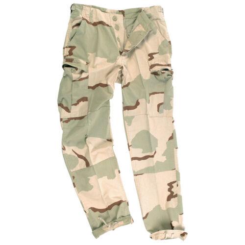 S-Xxl Bdu Esercito Militare Combat Ripstop Pantaloni Cargo 3 Colori Desert Camo