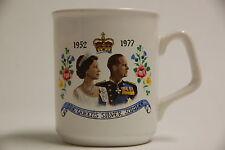 Queen Elizabeth II Silver Jubilee Mug 1977