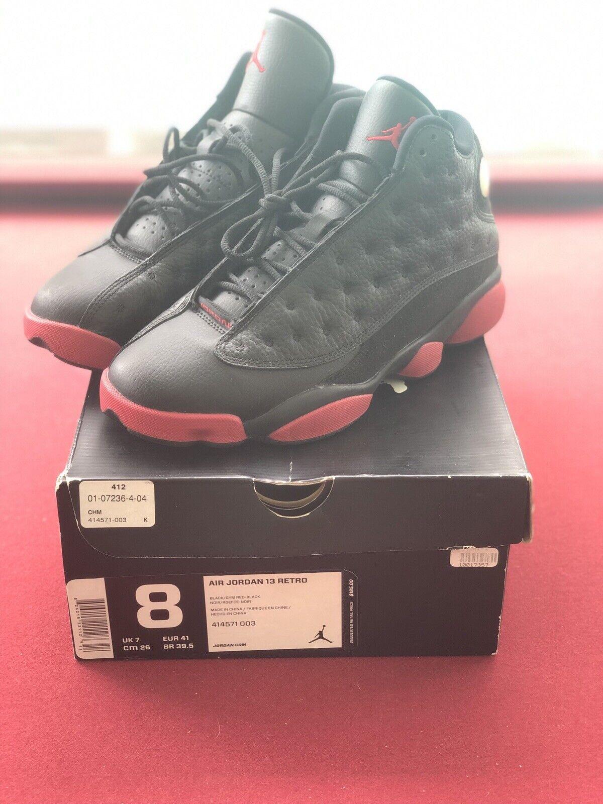 Jordan 13 Retro XIII 'Air raza sucia  Rojo Negro Cat playoffs 414571-003