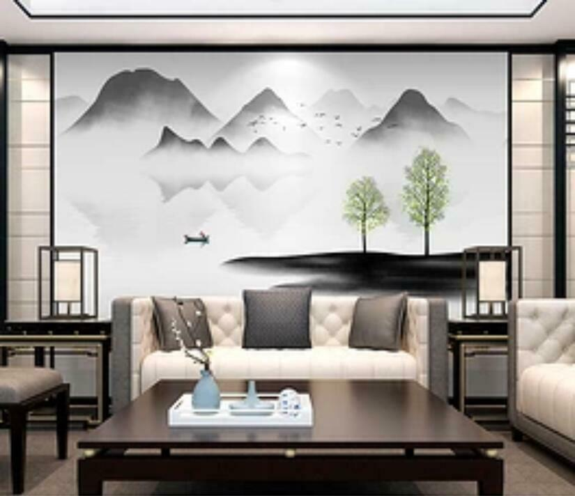 3D Ink Painting I1513 Wallpaper Mural Sefl-adhesive Removable Sticker Wendy