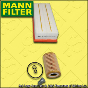 SERVICE-KIT-for-AUDI-A3-8P-1-6-TDI-CAYB-CAYC-MANN-OIL-AIR-FILTERS-2009-2013
