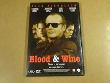 DVD / BLOOD & WINE ( JACK NICHOLSON, STEPHEN DORFF, JENNFER LOPEZ... )