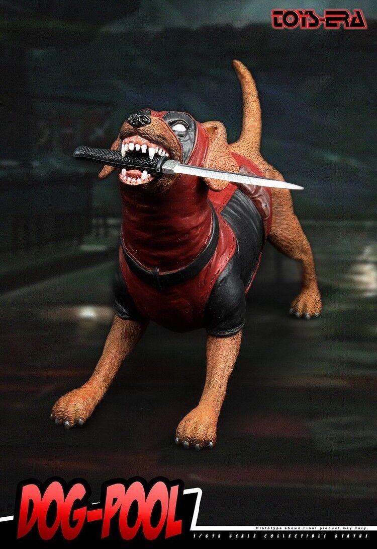 Hund pool, inspiriert von für deadpool corps dogpool 1   6 - statue spielzeug - ära te-014