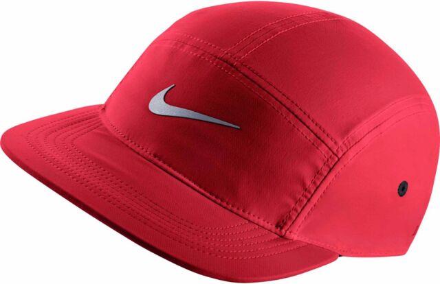 cdf75d91b824de New Mens Nike AW84 Windrunner Five 5 Panel Red 3M Running Cap Hat OS 876077  657