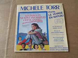 45-Tours-MICHELE-TORR-034-Le-voyage-en-bateau-034