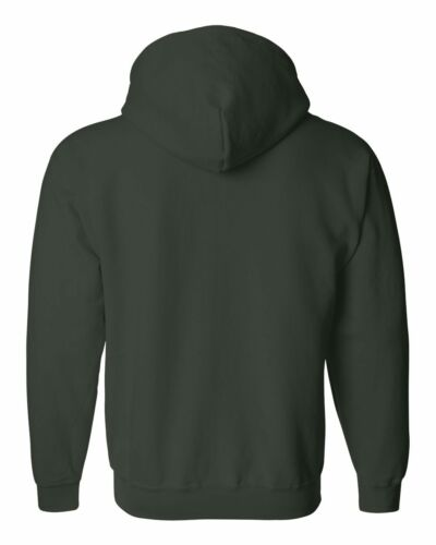 GILDAN S-2XL 3XL 4XL 5XL FULL ZIP Blend Hooded Sweatshirt Hoodie Jumper g18600