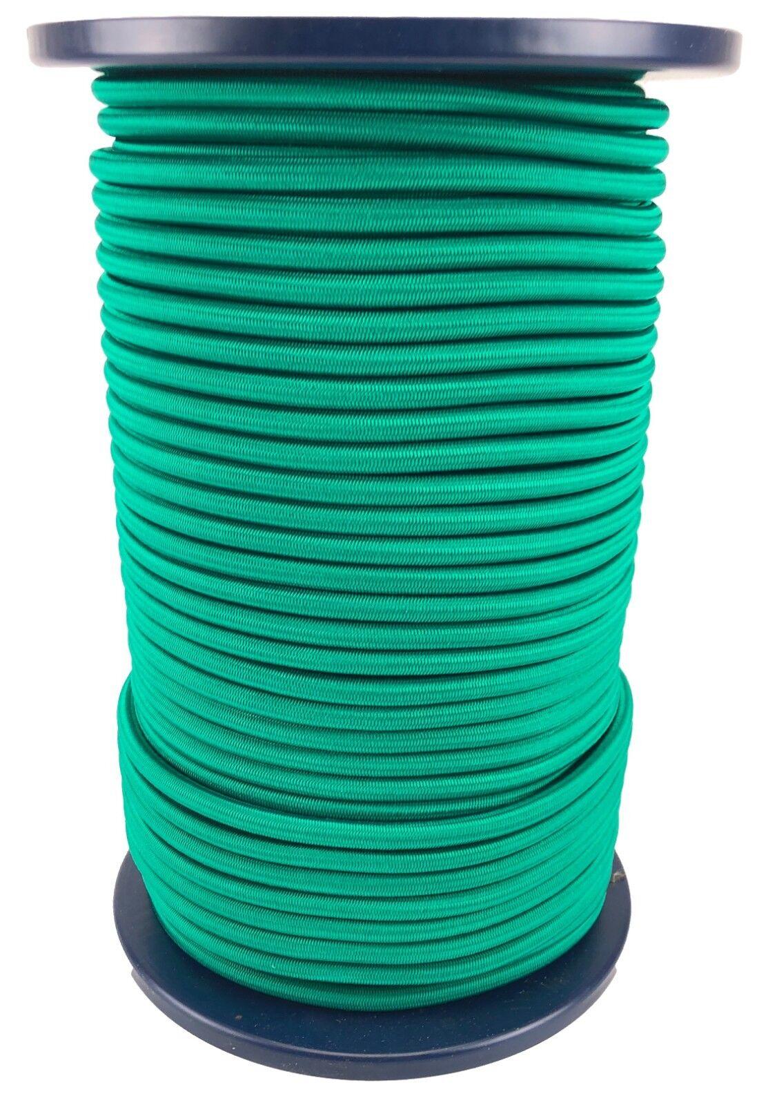 12mm Elastisch Gummiseil  Gummizug Seil Unten Grün Stabil Heavy Duty