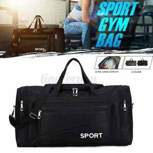 Men-Large-Sport-Gym-Handbag-Fitness-Shoulder-Bag-Training-Travel-Luggage