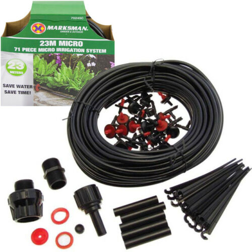 71PC-MICRO-IRRIGATION-WATERING-KIT-AUTOMATIC-GARDEN-PLANT-GREENHOUSE-DRIP-SYSTEM