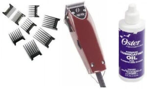 Oster Professional 76023-510 Fast Feed Clipper with Adjustable Blade + 8 piece