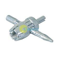 4-forma de válvula de reparación Core herramienta clave para coche Motocicleta Moto van Bicicleta neumáticos