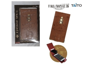 Final-Fantasy-XIV-leather-with-metal-parts-Smartphone-case-Moogle-From-JAPAN